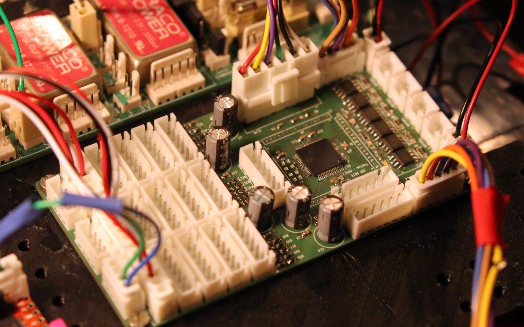 Cartes électroniques robots IUT GEII