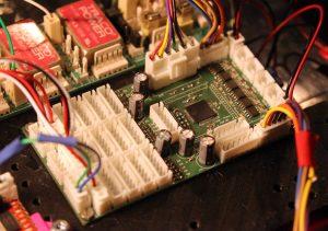 Carte électronique de pilotage des robots de l'IUT GEII de Toulon