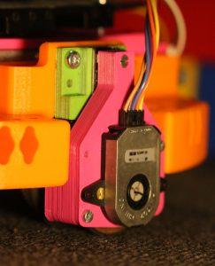 Odomètre sur les robots de l'IUT GEII de Toulon